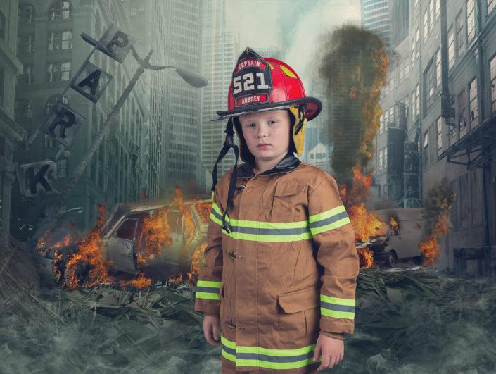 Denton Texas Fire Fighter