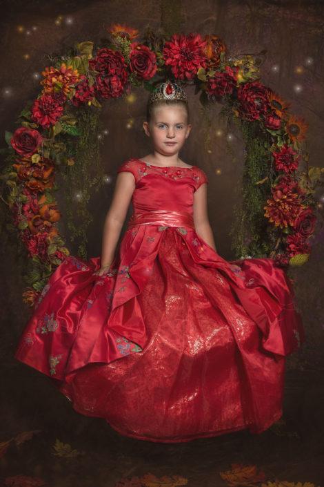 Denton Child photographer Disney Princess