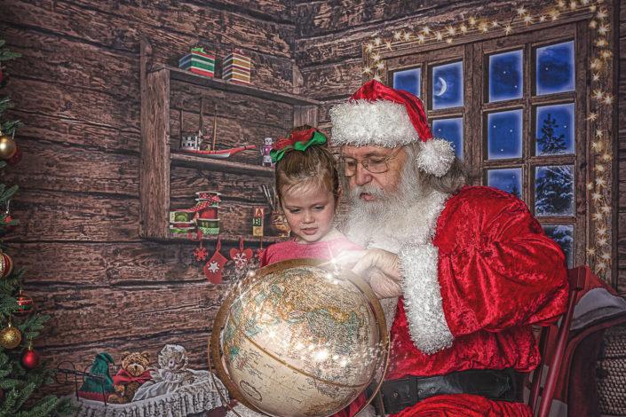 Little Girl & Santa's Christmas Journey